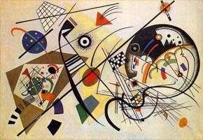 Kandinsky, Unbroken lines, 1923