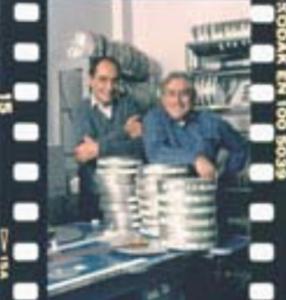 Werner Nold et Gilles Carles en 1985