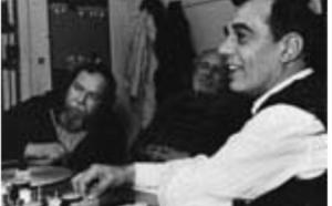Werner Nold en pleine démonstration en compagnie de Jean-Claude Labrecque et Michel Brault en 1980.